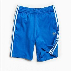 Adidas Mens Trefoil Logo Tear Away Shorts in Blue
